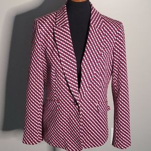 Boden patterned blazer